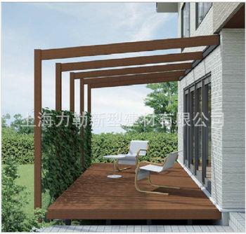 长期出售庭院葡萄架 木结构户外廊架花架