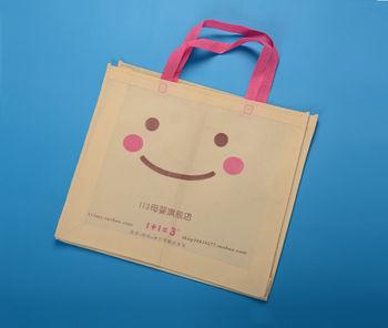 广州环保袋厂生产儿童服装包装袋 卡通购物袋 装衣服的袋子 价便图片