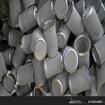 供应圆柱形不锈钢金属过滤网 第二天发货过滤网