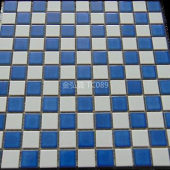 供应陶瓷马赛克拼花厂家专业生产 游泳池马赛克工程价图片
