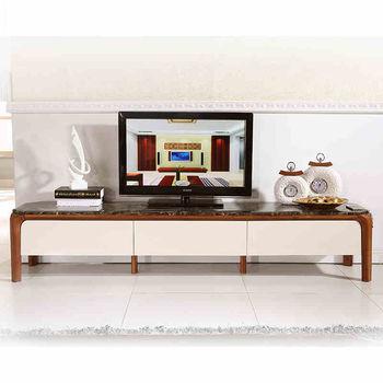 新款电视柜 欧式大理石电视柜实木客厅矮柜卧室地柜 法式电视机柜