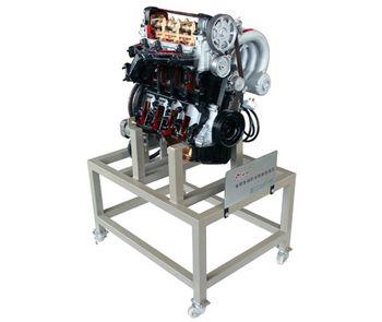 专业厂家 品质保证 供应汽车电控汽油发动机解剖演示台