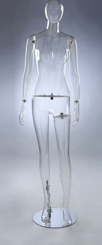 佰嘉汇模特架全身半身衣服拍摄道具 女装婚纱模特架人体pc模特