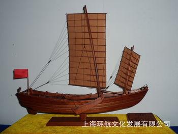厂家直供手工制作仿真古船模型 舢板船