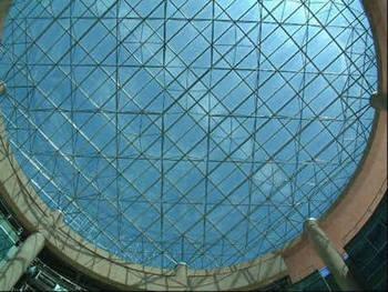 大连采光顶钢结构采光顶玻璃采光顶设计施工公司