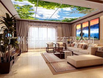 2015新型天花吊顶 人造室内天空 家居软装新品 设计师