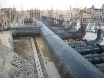 珠海海洋公园施工现场-排水管批发