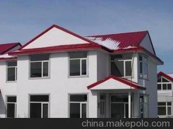 别墅式钢结构彩钢房优选建明公司