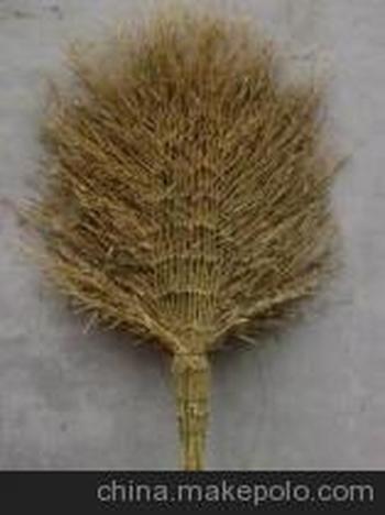 纯手工制作的江西苗竹扫帚(可根据客户需求制作各地各式竹扫帚)