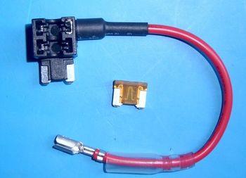 acn平保险丝取电器,汽车取电座,平脚保险丝取电器座,电路取电座
