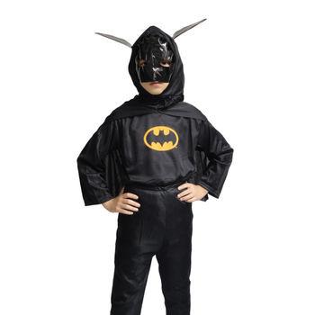 化妆舞会万圣节厂家服装儿童蝙蝠侠套装蝙蝠侠衣服服饰 225g
