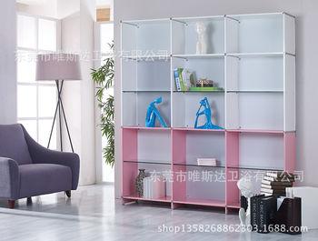 制柜专家批发 现代创意组合书柜 家用书柜