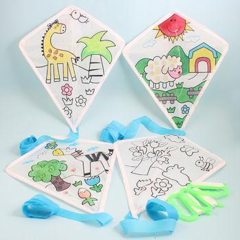 幼儿园手工材料手工diy儿童手工制作幼儿手工-活动教学风筝