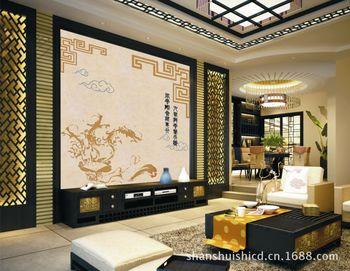 商务联盟 商品市场 建筑,建材 厂家直销沙发背景墙背景墙 瓷砖雕刻