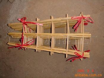 废旧pvc管手工制作花架