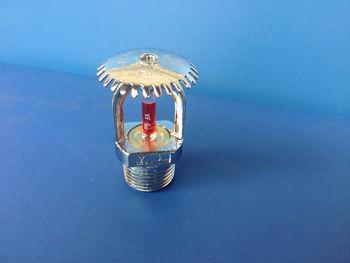 消防洒水喷头zstz15-68° 直立式喷头上喷 喷淋头 玻璃珠洒水喷头图片