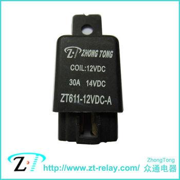空调继电器 油泵继电器 汽车继电器 12v 30a