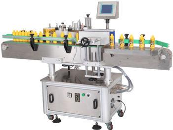 联盟机械商务行业药瓶及商品市场广州全自动套装贴标机,食品设备纯棉加厚v联盟玻璃图片