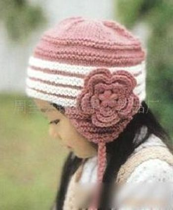 儿童手工毛线帽子 手钩编织帽子 卡通毛线帽子 宝宝流行外贸帽子