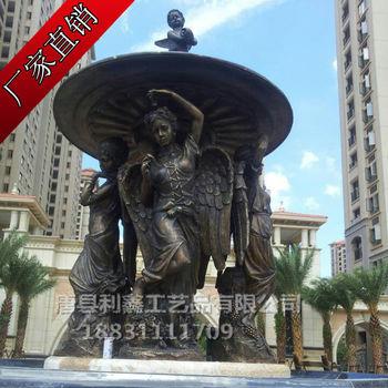 园林人物景观铜雕 地产酒店铜雕塑 大型景观铜雕塑 吉林雕塑