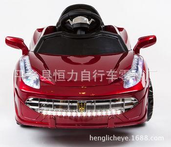 新款玛莎拉蒂儿童可坐电动汽车四轮带遥控玩具车宝宝双驱电动童车