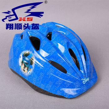 厂家直供自行车头盔 儿童骑行头盔 可爱多色骑行护具户外运动用品