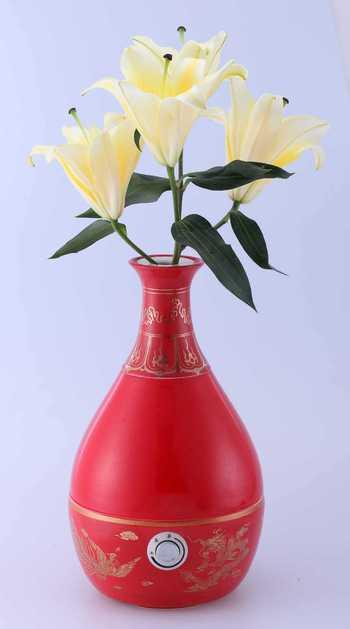 优顺达陶瓷艺术花纹加湿器超声波雾化器厂家清仓处理