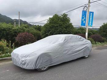 厂家批发直销汽车用品 防水防尘防晒车罩peva单层车衣