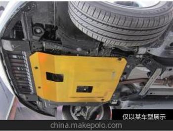 现代 伊兰特 瑞纳 雅绅特 途胜 朗动 发动机下护板 钛
