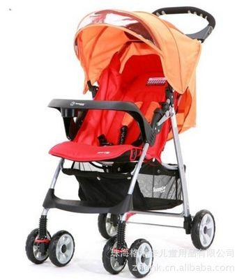 供应sh239一踩双刹五点式安全带可拆餐盘婴儿车童车婴儿推车