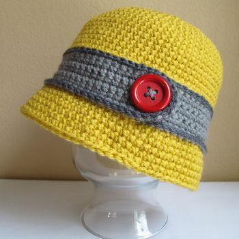 纯手工编织加工毛线宝宝帽婴儿帽 个性儿童帽子秋冬