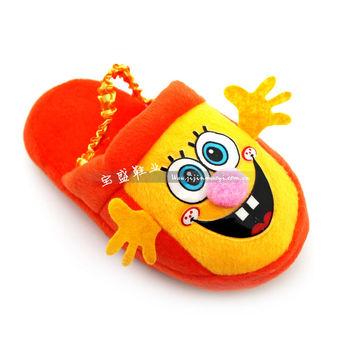 比趣拖鞋 儿童小童 软底地板拖鞋立体海绵宝宝棉拖鞋批发hy-1120