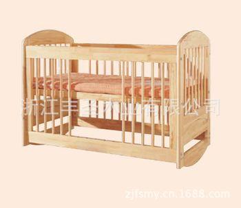 木质婴儿床 纯手工制作 环保安全用品 健康宝宝从小抓