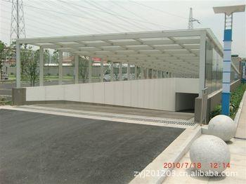 【合肥】 厂家专业制作钢结构雨棚,地下车库出入口雨棚
