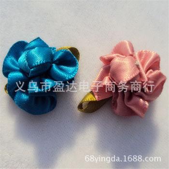 供应各色 五瓣含苞小梅花 diy手工小花 织带小花 欢迎