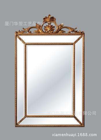 树脂镜框 欧式镜 酒店装饰 别墅会所 厂家直销 定制尺寸