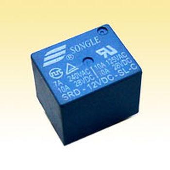 继电器srd-05vdc-sl-c