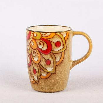 杯子批发 情侣陶瓷杯 手绘马克杯 外贸个性创意水杯 新年礼物批发