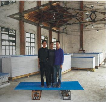 厂家直销鸡舍猪舍屋顶材料彩瓦专业防火材料隔热隔音替代彩钢瓦