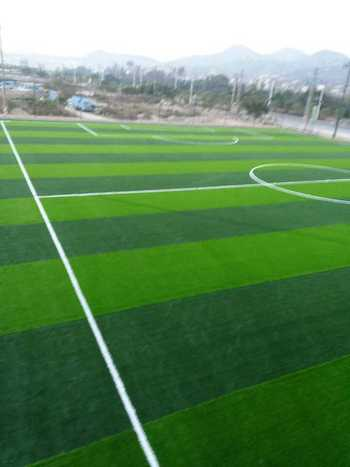 上海人造草坪足球场幼儿园塑胶跑道及材料硅pu篮球网球场生产厂家