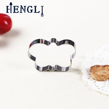 潮安出口标准不锈钢动物形状 切割模具 心形小人梅花烘焙饼干模具