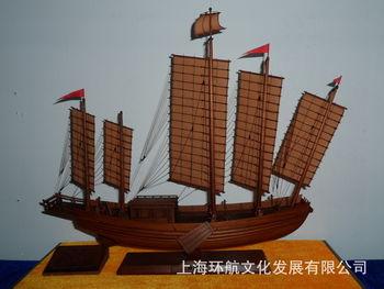 厂家直供手工制作仿真古船模型 沙船