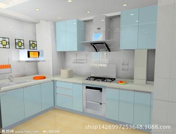 什么是实木大理石橱柜?整体厨房壁柜橱柜效果图,深圳怡诚橱柜