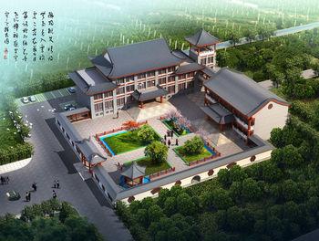 江西南昌赣州仿古建筑公司 古建庭院 私家园林 设计规划 建造施工图片