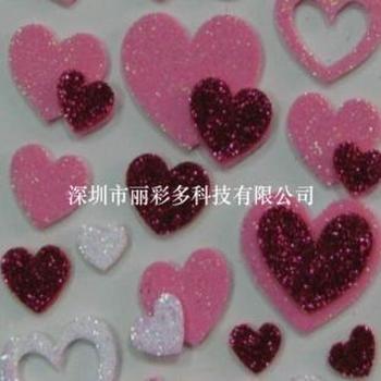 供应儿童玩具闪光贴片闪光粉diy手工制作深圳耐高温金葱粉