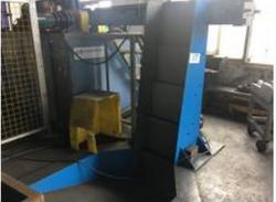 橄榄枝定制锻造上料设备 实现中频炉自动翻斗上料